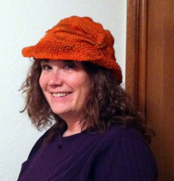 knitted cloche