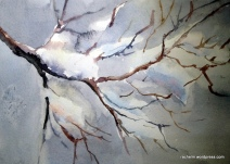 Snow Branches 2
